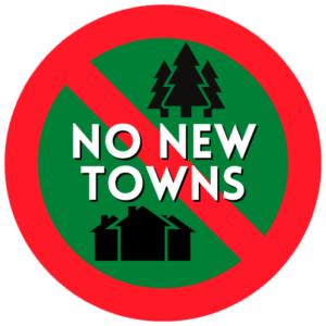 No New Towns